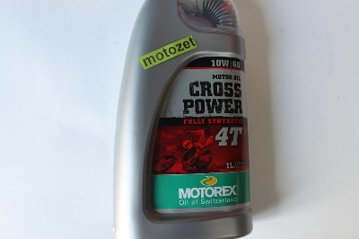 OLEJ MOTOREX CROSS POWER 10W/60 SYNTETYK