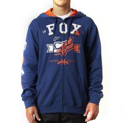 FOX BLUZA Z KAPTUREM NA ZAMEK KETTER SUPERIOR MIDNIGHT S