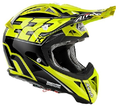 KASK AIROH AVIATOR 2.1 TC15 XL GLOSS 2015