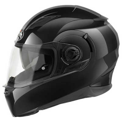 KASK AIROH MOVEMENT SPORT CZARNY ROZ M