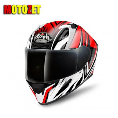 KASK AIROH VALOR CONQUER CZERWONY ROZ XL
